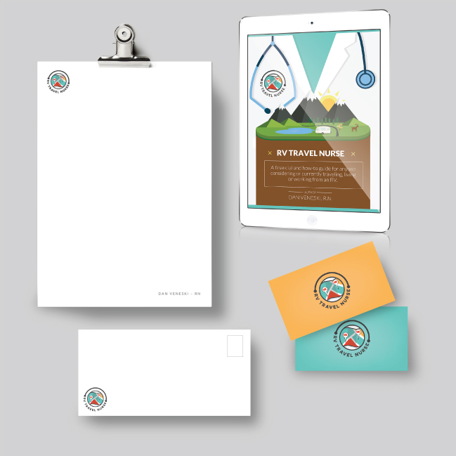 Dan Veneski - RV Travel Nurse Brand Design - MC CREATIVE